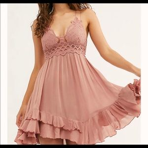 Free People Adela Slip Dress